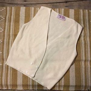 Vintage Knit sleeveless vest